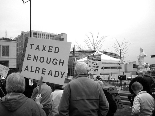 Bellevue Tax Day Rally | Bellevue.com