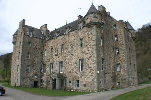 Castle Menzies nr Weem