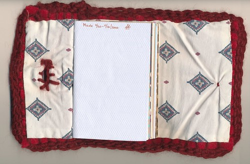 Sweater Journal, interior