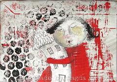 Francuz (Magda Polakow) Tags: painting acrylic mixedmedia