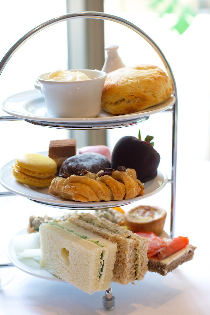 Urban Tea: signature afternoon tea nibbles