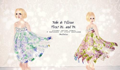 Robe de fillette Fleur AD