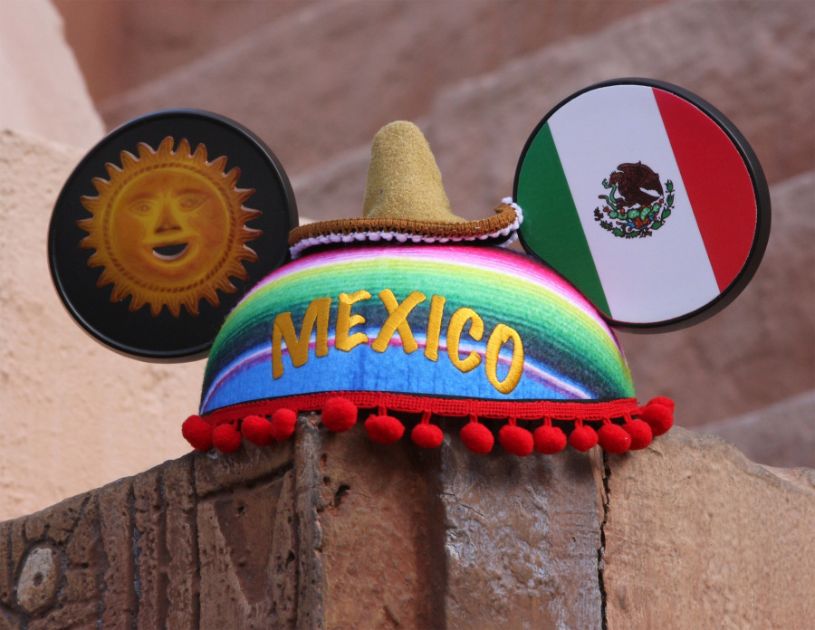 Mexico Ear Hat from Disney Parks