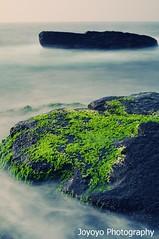 (joyoyo) Tags: ocean bw sunrise 35mm landscape nikon taiwan  seashore ndfilter d90 f2d neutraldensityfilter longexposurephotography timeexposurephotography nd1000 nd110  joyoyo