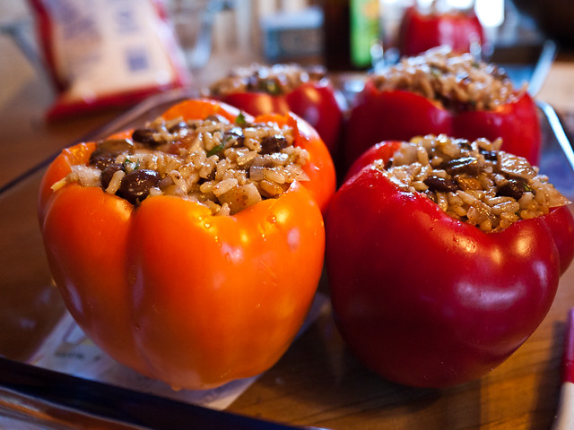 Pre-Cooked Stuffed Peppers