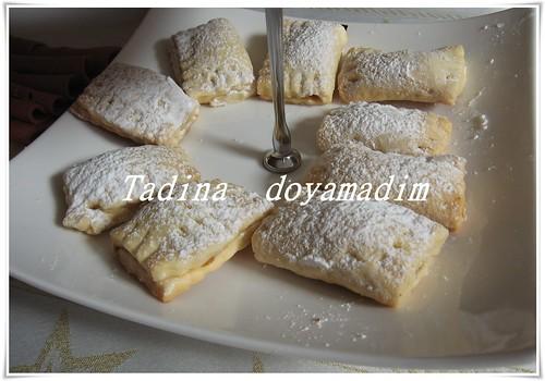 elmalı mini kurabiye