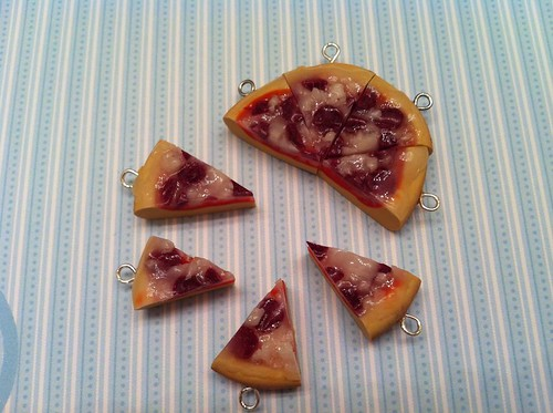 Pepperoni Pizza Charms