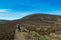 What all the way up there? (KeenBfB) Tags: northumberland cheviots northumberlandnationalpark thecheviot englishmountian