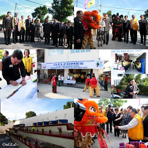LCI President Sid Scruggs' Visit to District B2 Malaysia