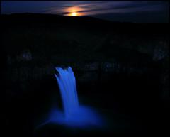 Palouse Falls at moonrise 1 (Gil Aegerter) Tags: nikon nikkor palouse easternwashington palousefalls 20mmf35ais gilaegerter palousefallsmoon