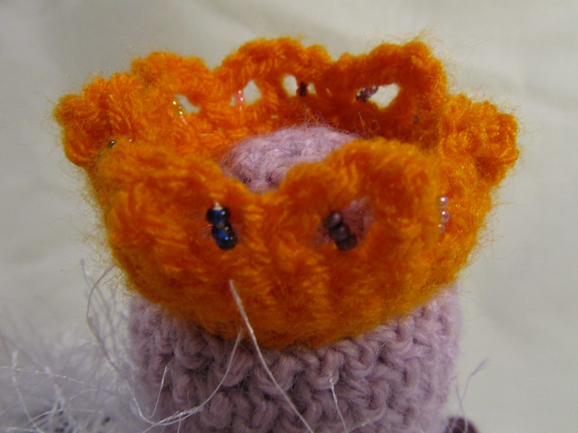 Arctic Fox Amigurumi : Curiously Crafted Creations: Meet the Roly Poly King and ...