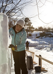 Art Meets Ice 2011 - Solongo Khashbaatar (Korkeasaaren elintarha) Tags: winter sculpture art suomi finland ami icesculpture korkeasaari taide elintarha djurgrd artmeetsice tapahtumat jnveisto korkeasaarenelintarha taidetapahtuma jveisto hgholmensdjurgrd