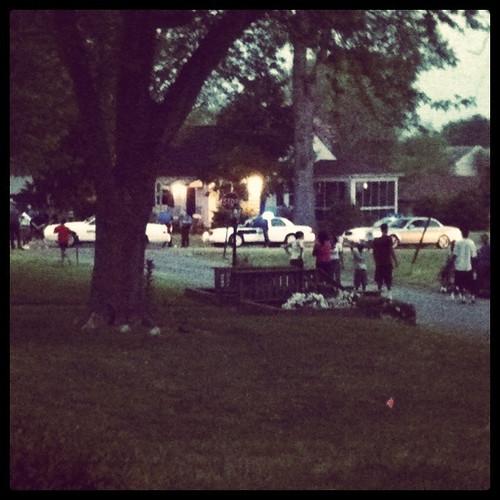 Neighborhood ruckus