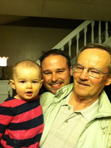 Janie, Daddy, Grandpa