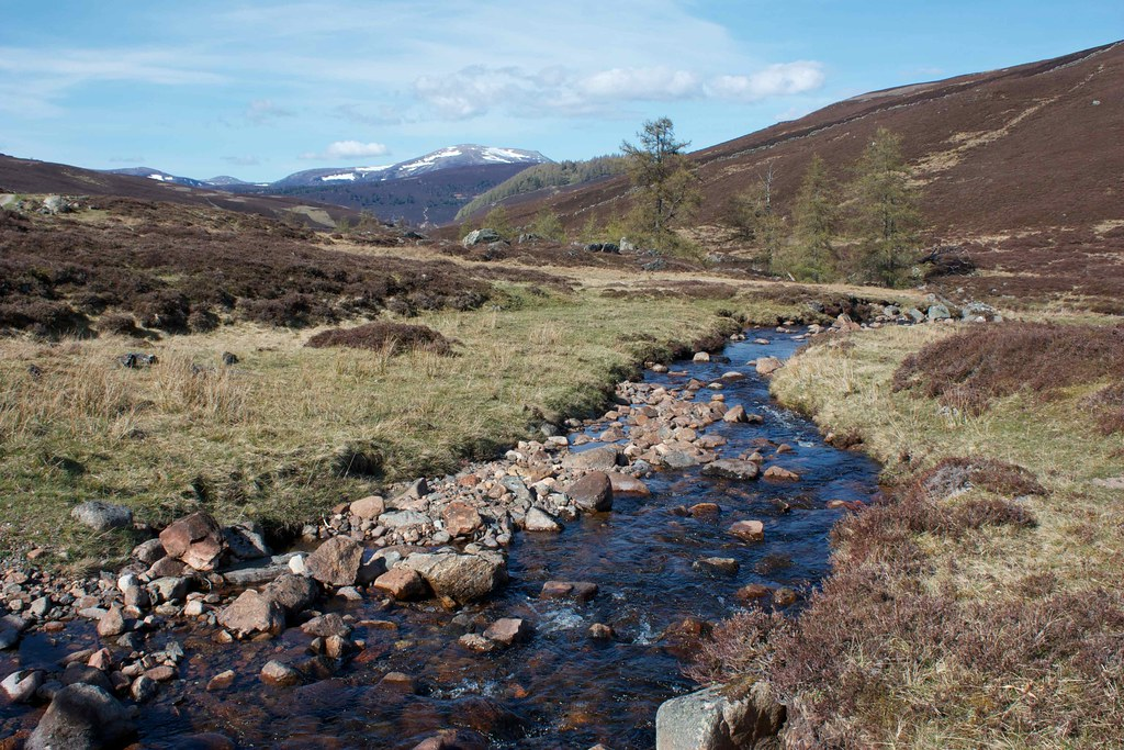 Tumbling burn in Glen Ey