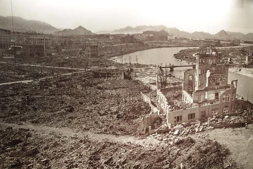 Hiroshima tras la bomba