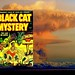 """ THE  LAST  MAN  ON  EARTH ! "" - BLACK  CAT  MYSTERY  ( Harvey ) # 35  May 1952  Cover: Bob  POWELL"