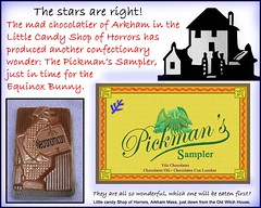 Pickman's Sampler Ad from Arkham