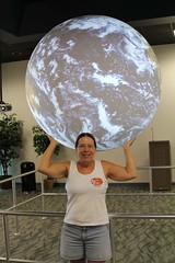 Earth Day (Cordelia L) Tags: world day earth rockporttx scienceonasphere bayeducationcenter yougotthewholeworldinyourhands