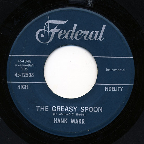 Hank Marr The Greasy Spoon I Cant Go On Without You