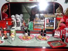 Me and Coca Cola diner (citycirclez) Tags: cola barbie rement coca diorama