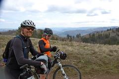 Easter Joseph Creek Ride (Doug Goodenough) Tags: bicycle bike cycle mountain gravel joseph creek heller bar 2011 11 april easter jen scott douggoodenough doug goodenough drg53111peaster drg53111p grande ronde basalt selma salsa salsaselma ss singlespeed drg531