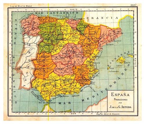 005-España producciones-Atlas De Geografía- Astronómica, Física, Política Y Descriptiva 1908- Juan G. Artero
