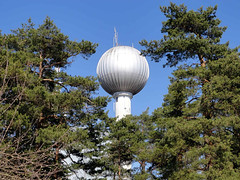 Tullinge - Water Tower (Olof S) Tags: wallpaper sky building tree tower nature water architecture landscape photography landscapes photo view sweden stockholm sony schweden scenic picture swedish sverige landschaft suede suecia landskap svezia szwecja tullinge oltusfotos tullingeberg dscw350