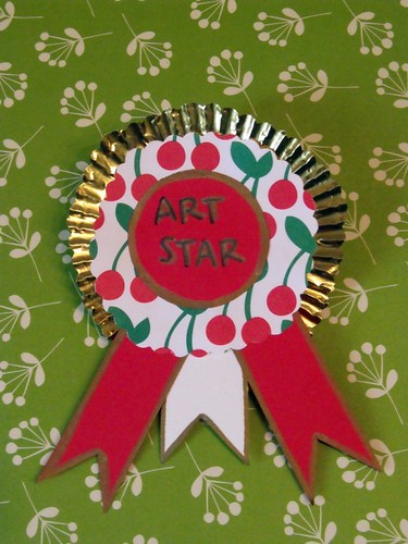 Art Star Cherry Badge