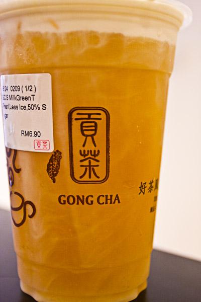 Gong Cha Bubble Tea Malaysia
