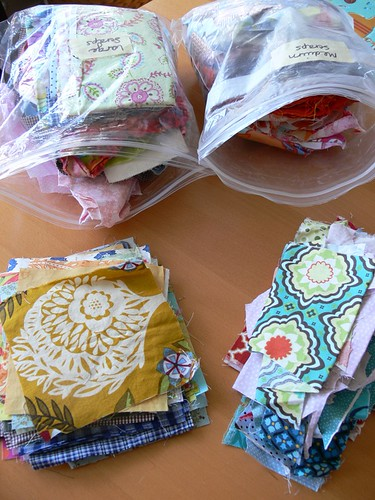 Jenny: WIP - Patchwork Pouches