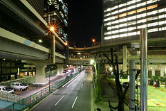 Tanimachi Junction - 13 (Kabacchi) Tags: night tokyo highway  nightview expressway  interchange      jct tanimachijunction ~tanimachijunction~