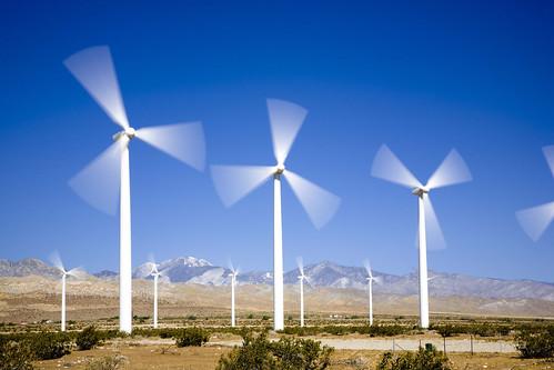 Un parque eólico de Iberdrola en EEUU