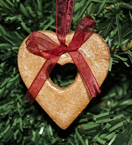 Gingerbread Salt Dough Heart