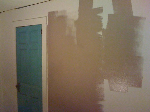 painting the guest room!