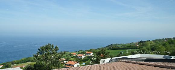 Akelarre, San Sebastian view