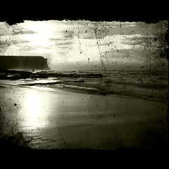 Day 21 of 365 (series 2) #iPhoneography #mostly 365 (Michael.Sutton) Tags: bw square squareformat normal beack garie sutto007 iphoneography instagramapp uploaded:by=instagram