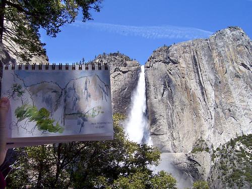 Yosemite Falls sketch