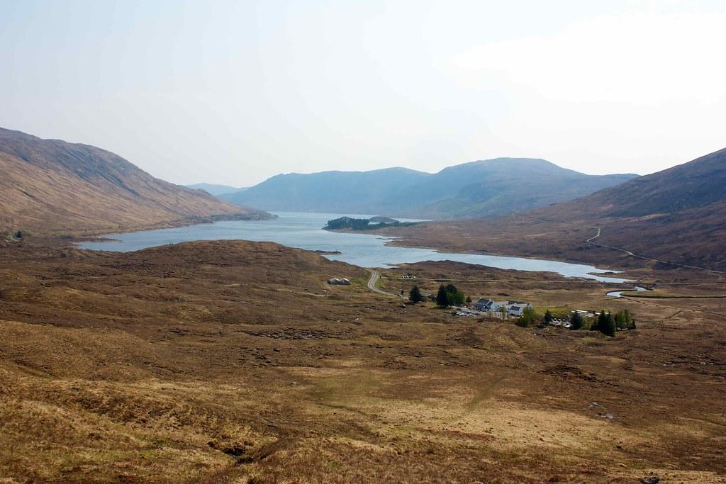 Cluanie Inn and Loch Cluanie