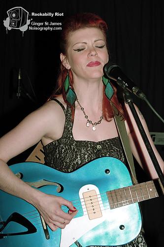 Ginger St James - Rockabilly Riot - April 30th 2011 - 10