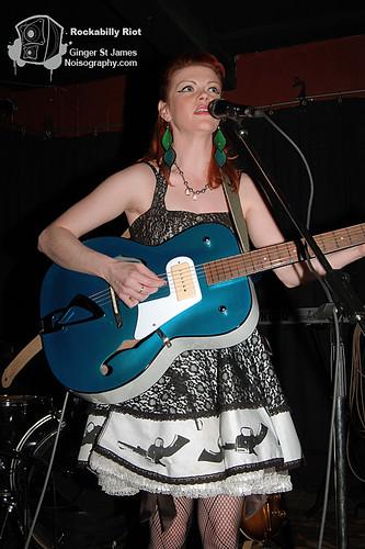 Ginger St James - Rockabilly Riot - April 30th 2011 - 01