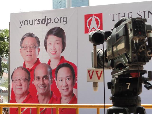 新加坡選舉-Singapore General Election 2011- Lunchtime rally