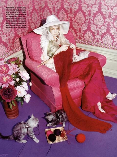 Miles Aldridge Vogue Italia 5