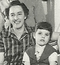 picture of the blog author with her mother