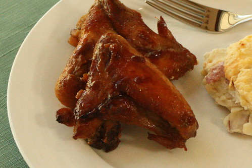 Honey, Soy and Garlic Chicken Wings
