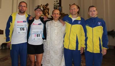 Pražský mezinárodní maraton s bezva knězem Pavlem Čápem
