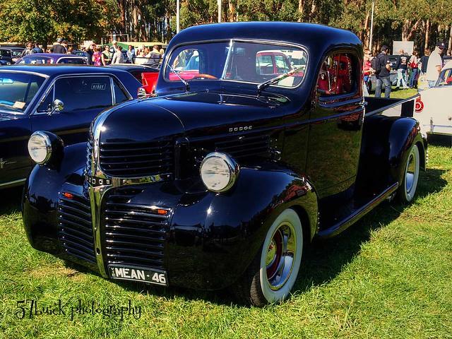 cars classics rockabilly autos hdr carshow hotrods customs 1946 kustomkulture leadsleds lardnerpark hotrodrumble 1946dodgepickup