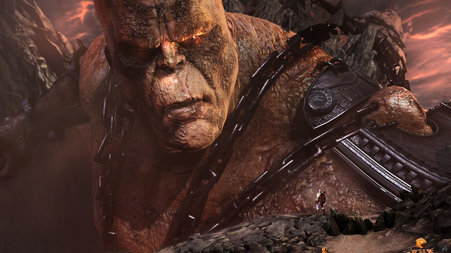 "God of War III: ""Cronos Battle"""