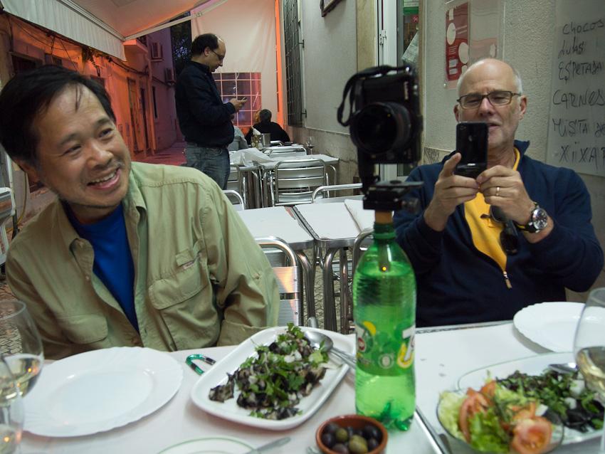 Jook Leung et Martin