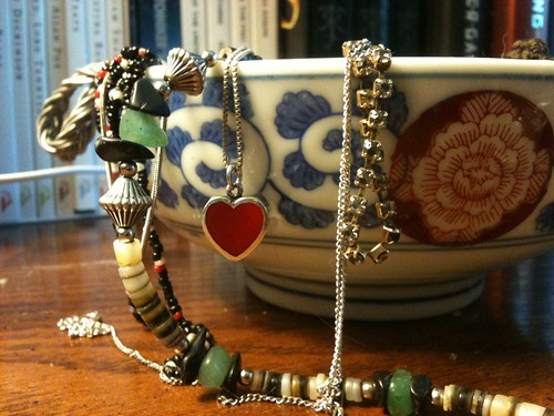 Jewelry in a China Bowl I